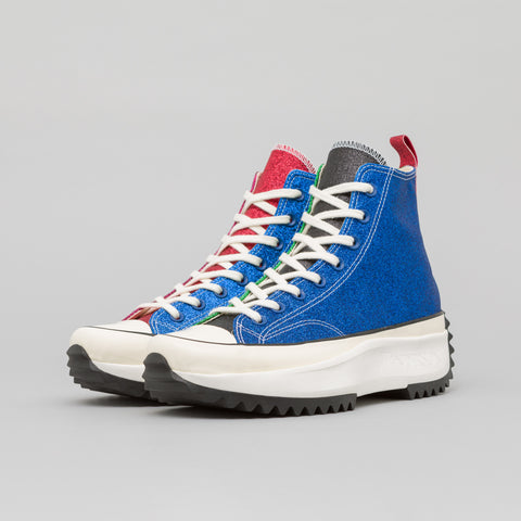 Converse x JW Anderson Run Star Hike Hi in Blue - Notre
