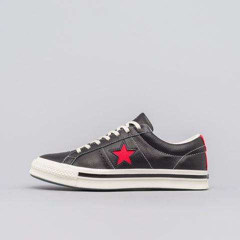 Converse x Kasina One Star Ox in Black/Red - Notre