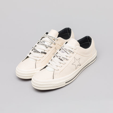 Converse x Midnight Studios One Star Ox in Egret - Notre