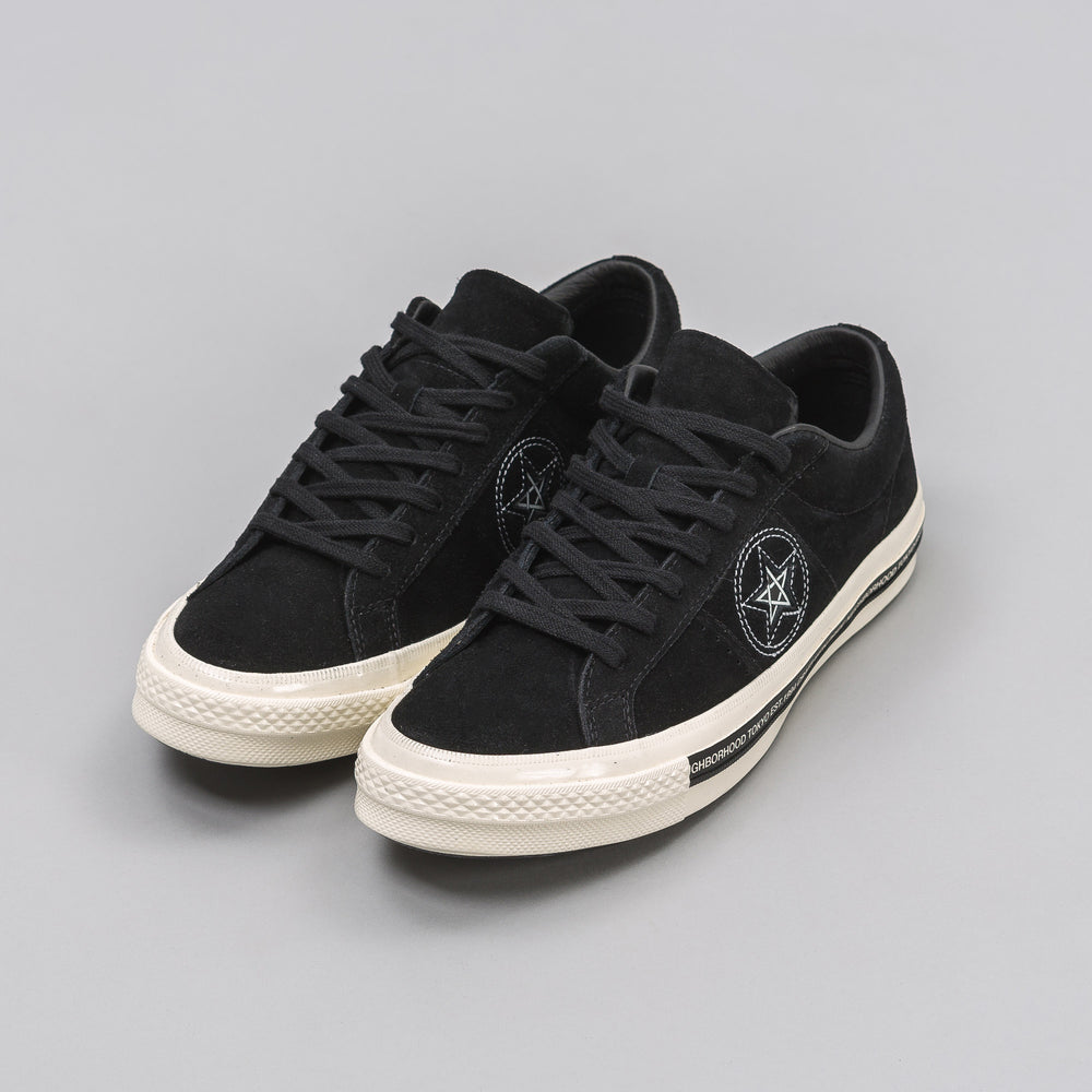 Converse Converse x Neighborhood One Star Ox in Black - Notre