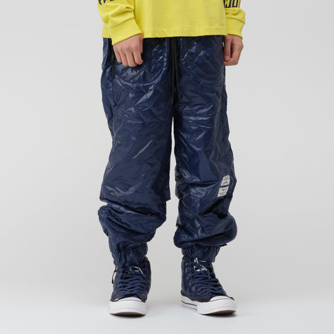 Converse x Perks and Mini Quilted Track Pant in Medieval Blue - Notre