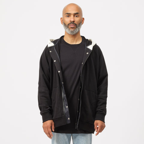Converse x TAKAHIROMIYASHITA The Soloist Full Zip Hoodie in Black - Notre