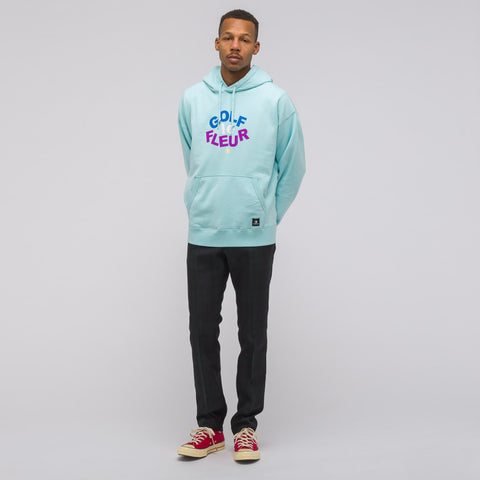 Converse x Tyler the Creator Pullover Hoodie in Clearwater Blue - Notre