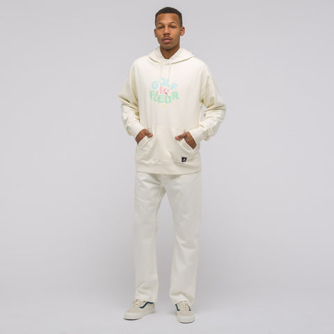 Converse x Tyler the Creator Pullover Hoodie in Egret - Notre