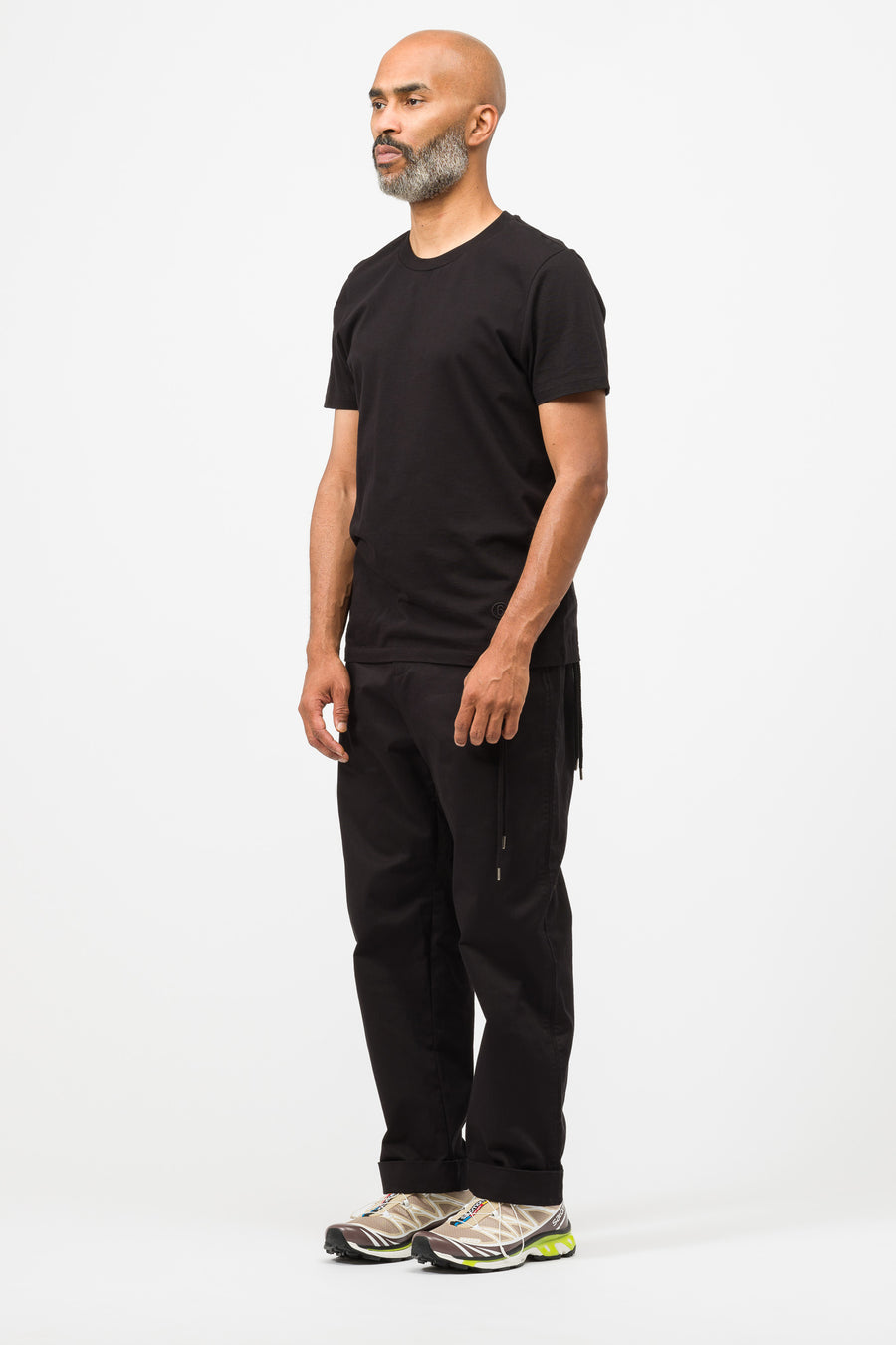 Craig Green Laced Uniform Trouser in Black - Notre
