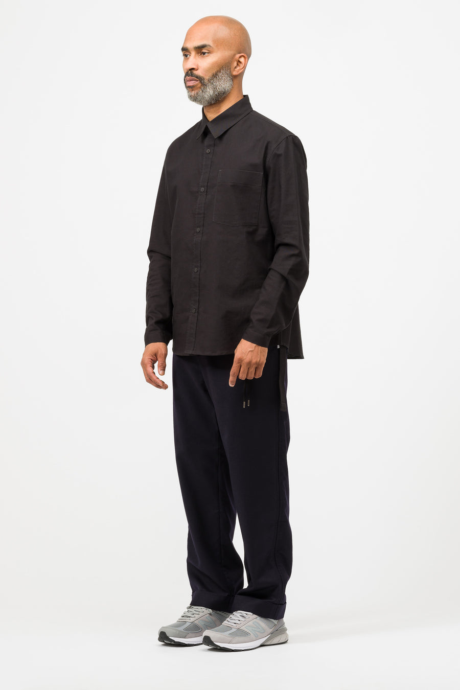 Craig Green Oxford Shirt in Black - Notre