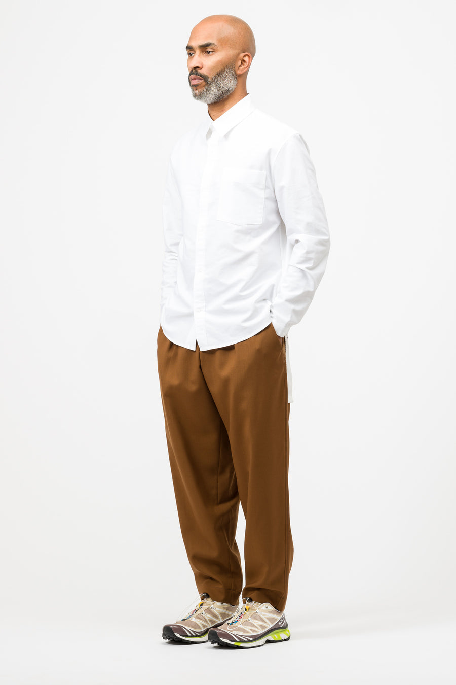Craig Green Oxford Shirt in White - Notre