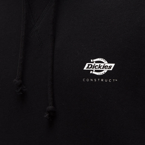 Dickies Construct Hooded Sweatshirt in Black - Notre