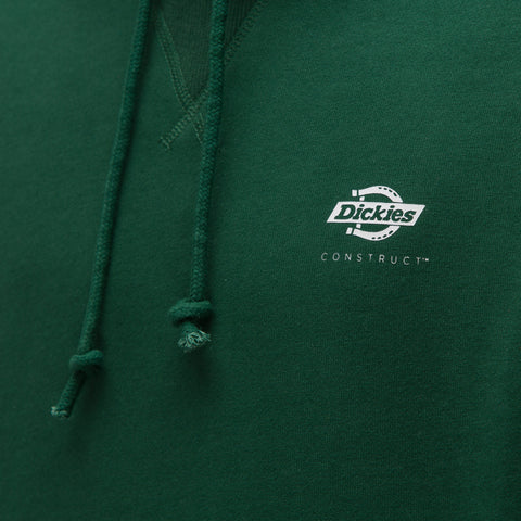 Dickies Construct Hooded Sweatshirt in Green - Notre