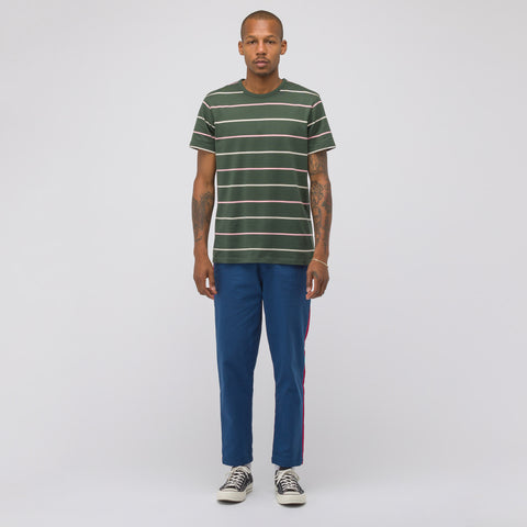 Dickies Construct Side Stripe Pants in Airforce Blue - Notre