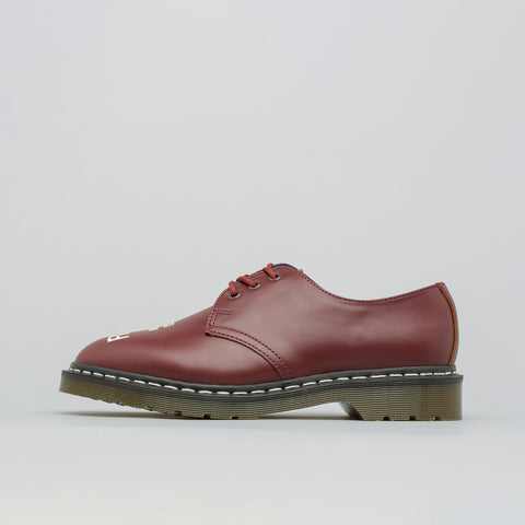 Dr. Martens x Neighborhood 1461 Derby in Oxblood - Notre