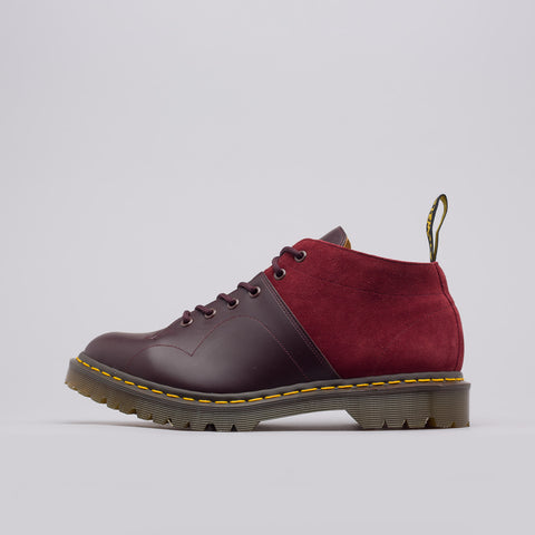 Dr. Martens x Engineered Garments Church Boot in Oxblood/Red Earth - Notre