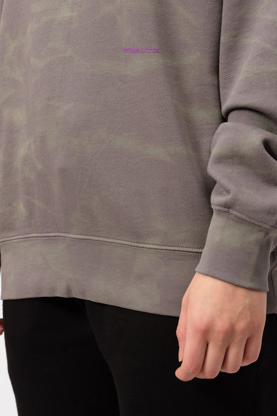 Eckhaus Latta Sweatshirt in Smoke - Notre