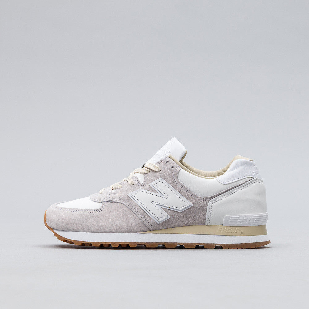 New Balance x END. M575END in Marble White Side View