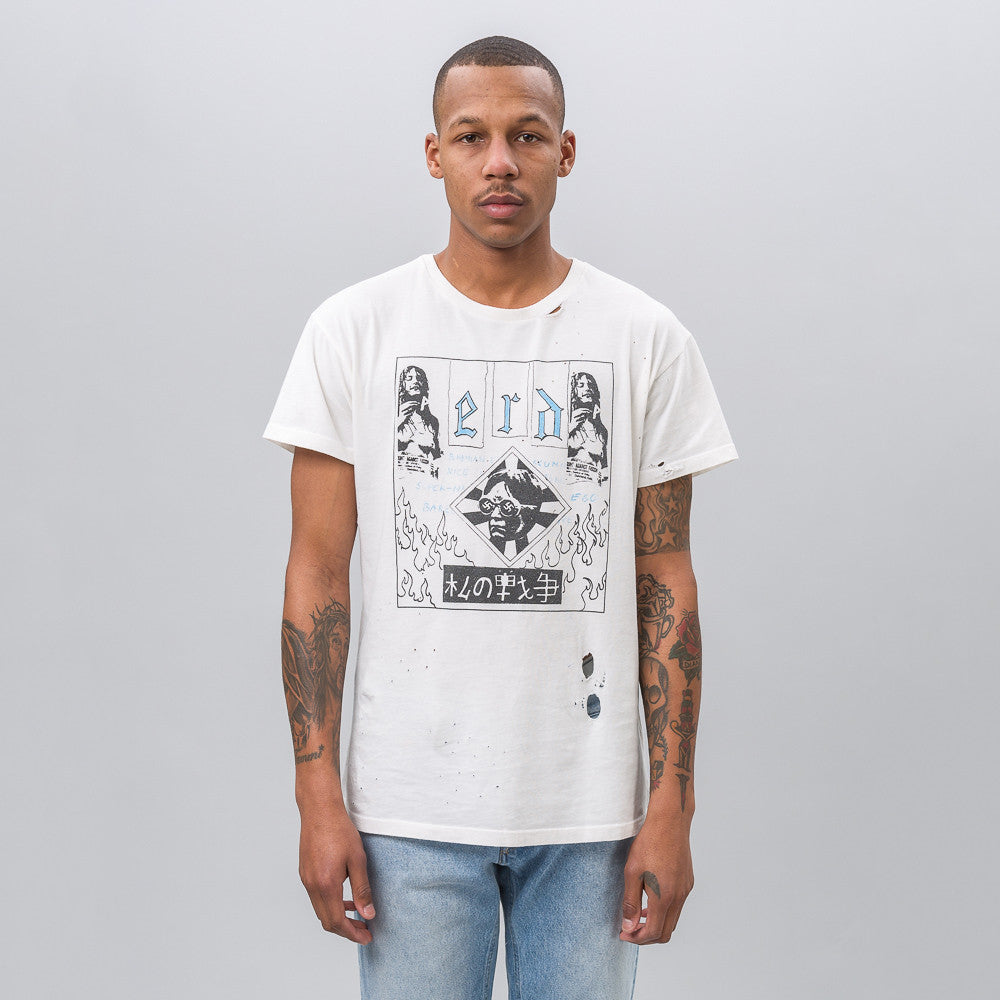 ENFANTS RICHES DÉPRIMÉS Bohemian Elitist Scum T-Shirt in White - Notre