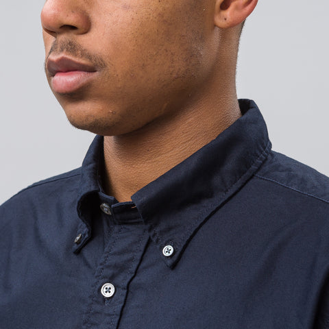 Engineered Garments 19th Century BD Shirt in Dark Navy - Notre