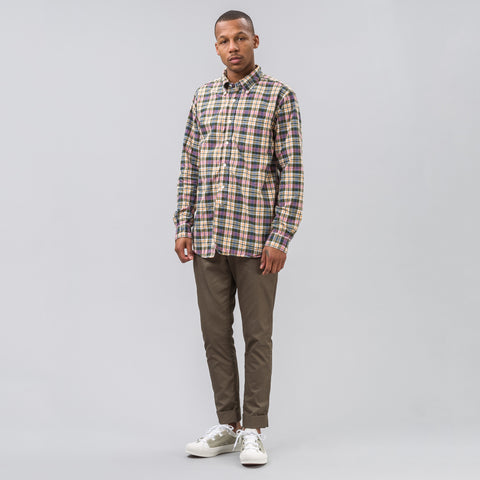 Engineered Garments 19th Century BD Shirt in Plaid - Notre
