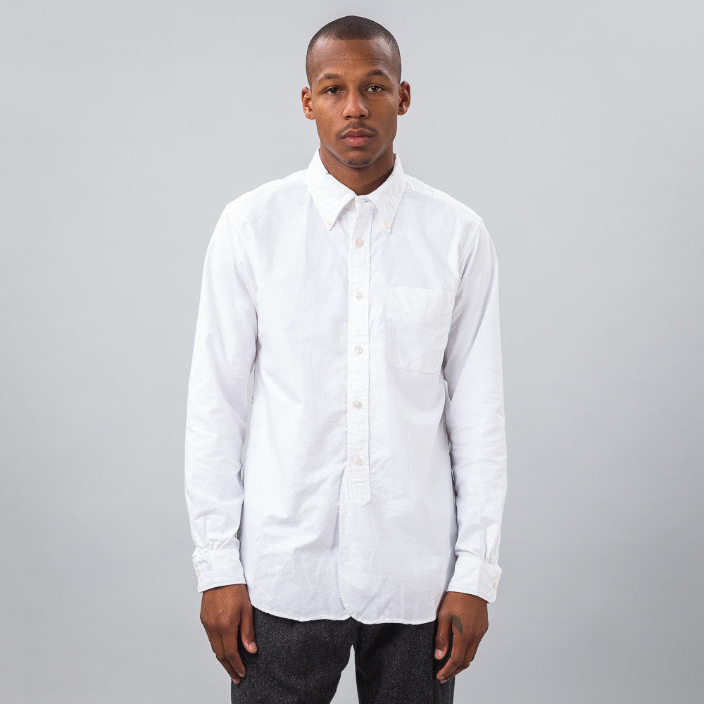 Engineered Garments - 19th Century BD Shirt in White - Notre - 1