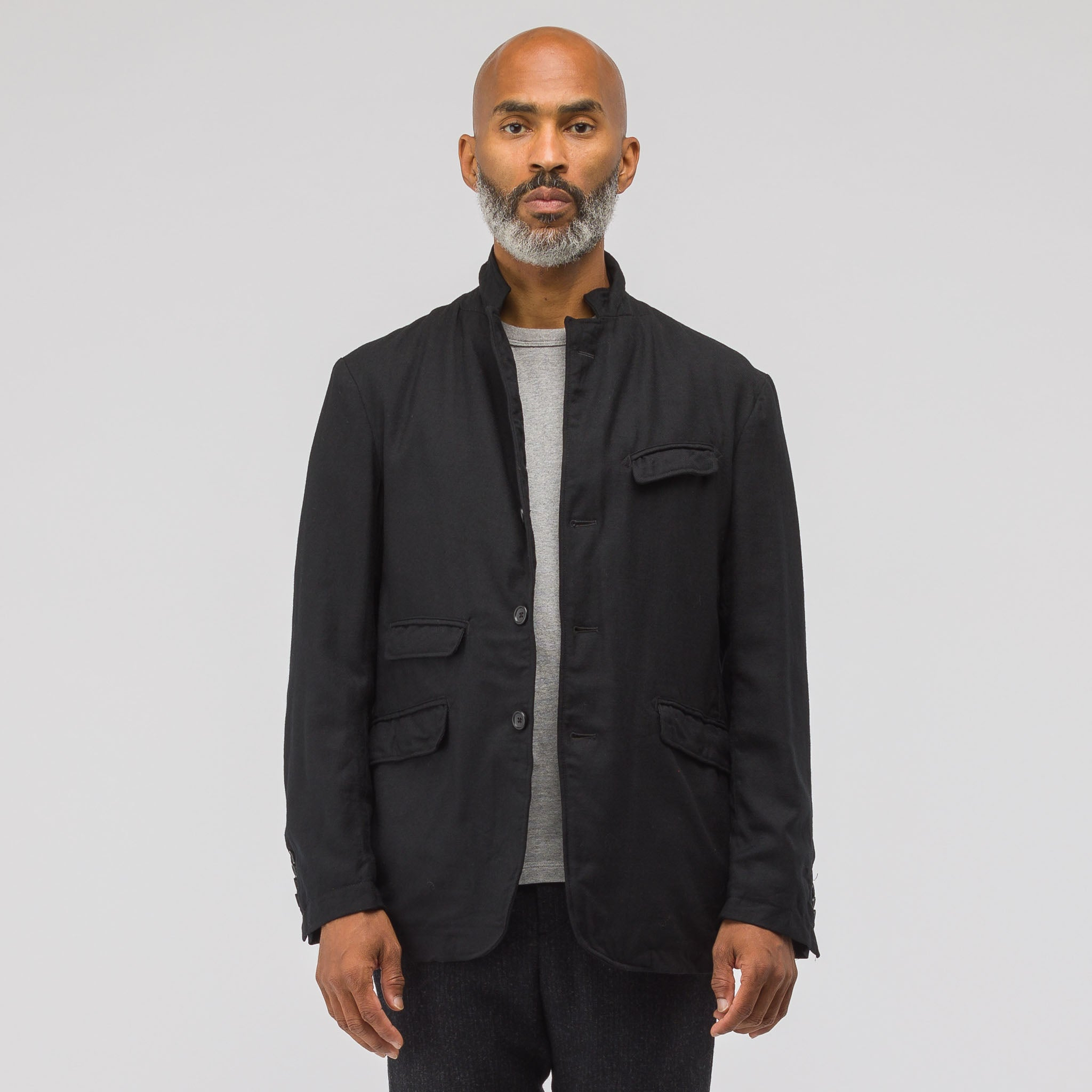 Andover Wool Jacket in Black