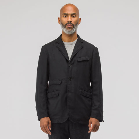 Engineered Garments Andover Wool Jacket in Black - Notre