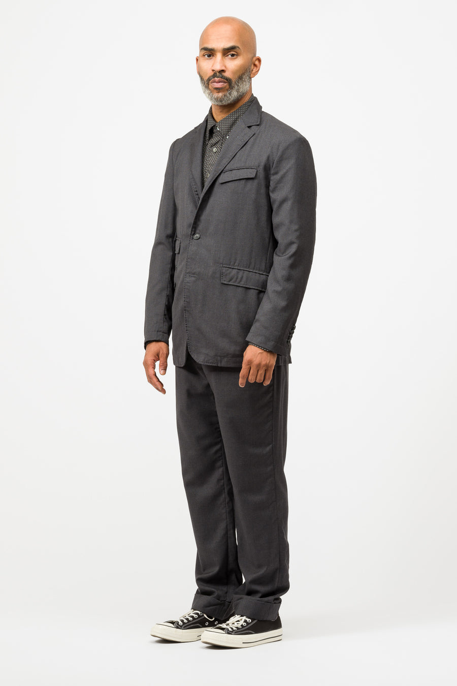 Engineered Garments Andover Jacket in Charcoal - Notre
