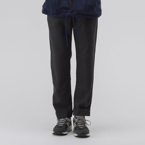 Engineered Garments Andover Pant in Charcoal Heather - Notre