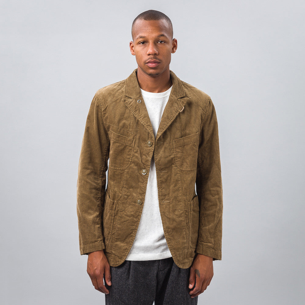 Engineered Garments - Bedford Jacket in Khaki Corduroy - Notre - 1