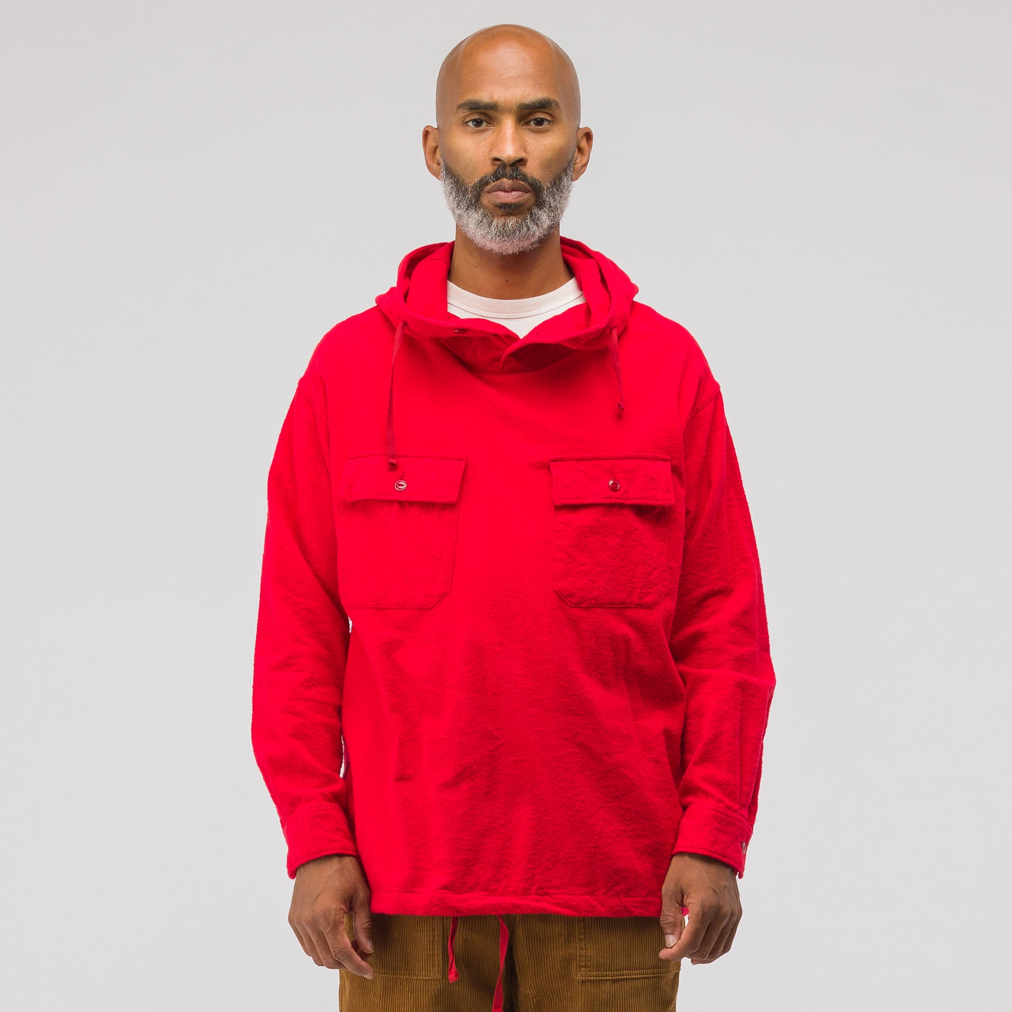 Cagoule Shirt in Red