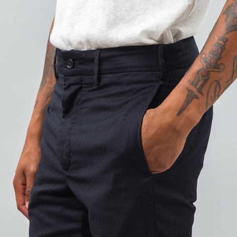 Engineered Garments Cinch Pant in Dark Navy - Notre