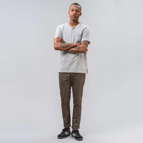 Engineered Garments Cinch Pant in Olive Twill - Notre