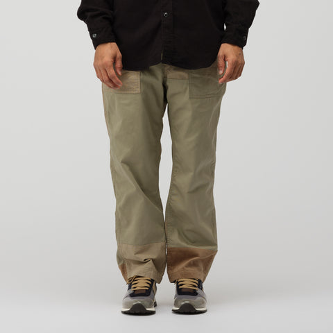 Engineered Garments Fatigue Pant in Khaki - Notre