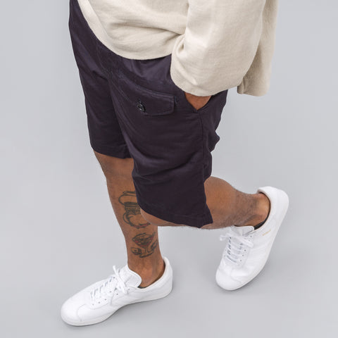 Engineered Garments Ghurka Short in Dark Navy Twill - Notre