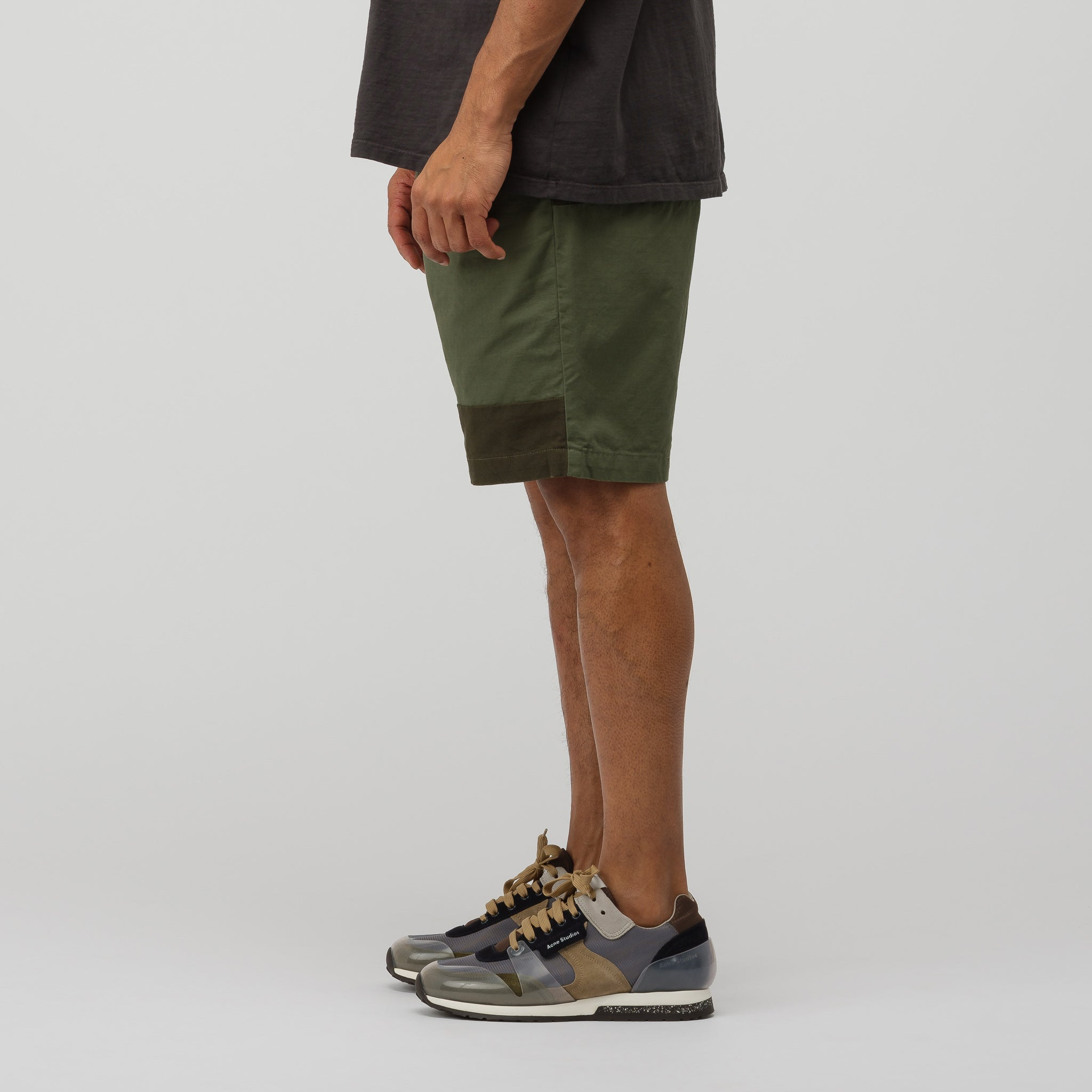 Ghurka Short in Olive Cotton Ripstop