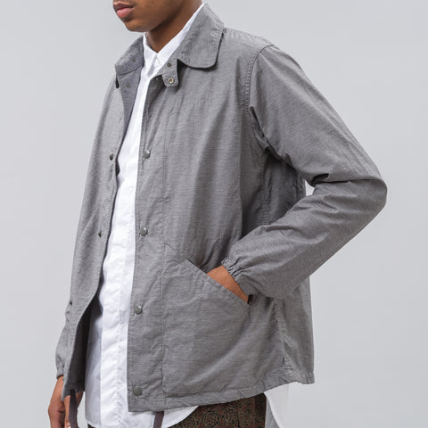 Engineered Garments Ground Jacket in Grey Activecloth - Notre
