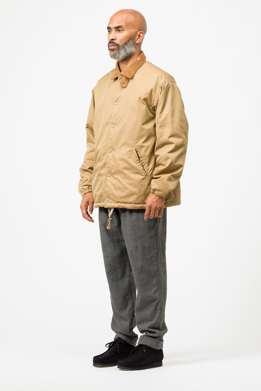 Engineered Garments Ground Jacket in Orange - Notre