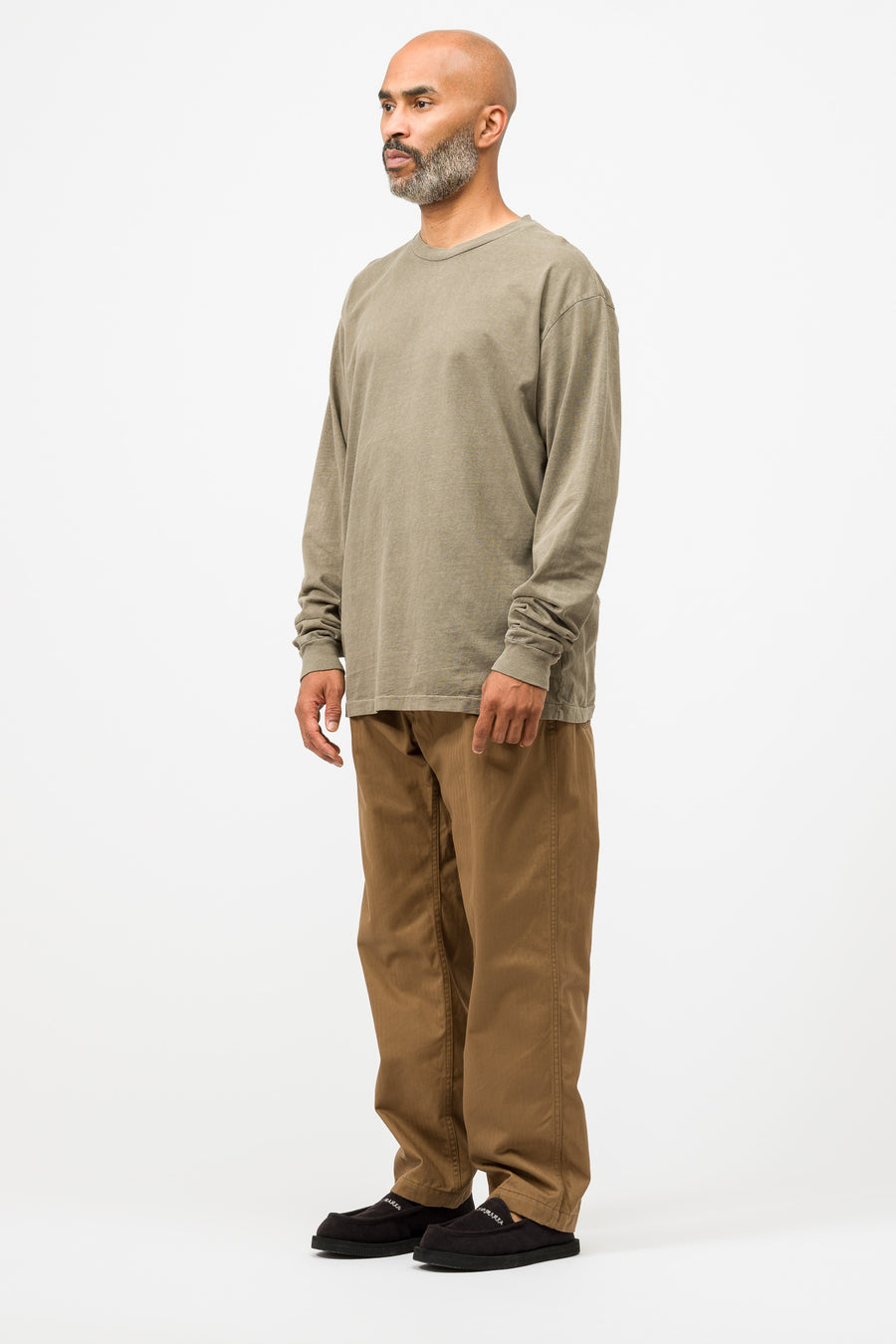 Engineered Garments Ground Pant in Khaki - Notre