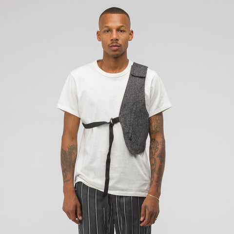 Engineered Garments Holster Vest in Grey Wool - Notre