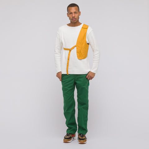 Engineered Garments Logger Pant in Green Twill - Notre