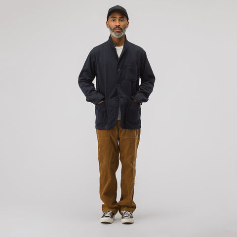 Engineered Garments Loiter Jacket in Dark Navy - Notre