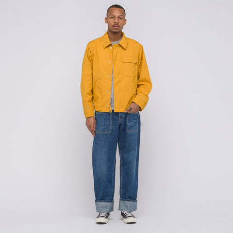 Engineered Garments NA2 Jacket in Gold PC Poplin - Notre