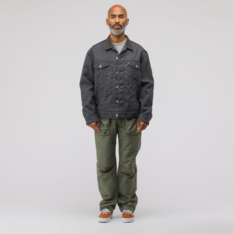 Engineered Garments Norwegian Pant in Olive Double Cloth - Notre