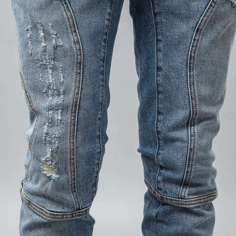 Faith Connexion Used Run Denim in Blue - Notre
