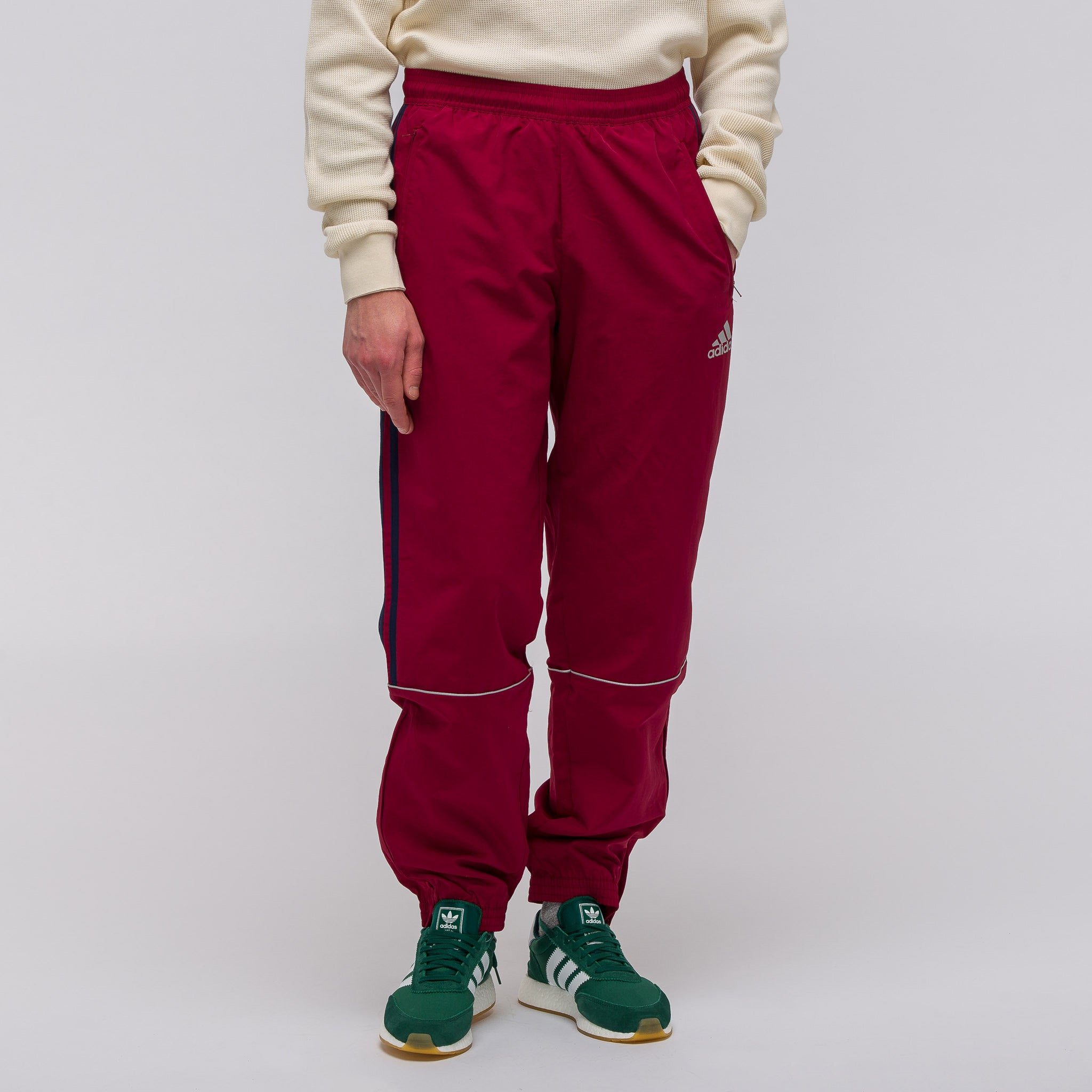 Discount Gosha Rubchinskiy Gosha Rubchinskiy x Adidas logo trackpants Find Great Sale Online Find Great Cheap And Nice Reliable jsnL75bj