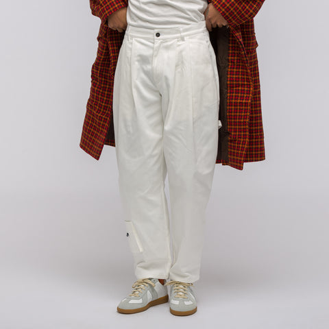 Gosha Rubchinskiy Carpenter Pant in White - Notre