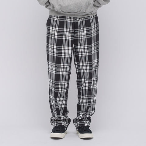 Gosha Rubchinskiy Check Pant in White/Black Plaid - Notre