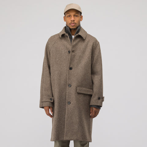 Gosha Rubchinskiy Wool Coat in Grey - Notre