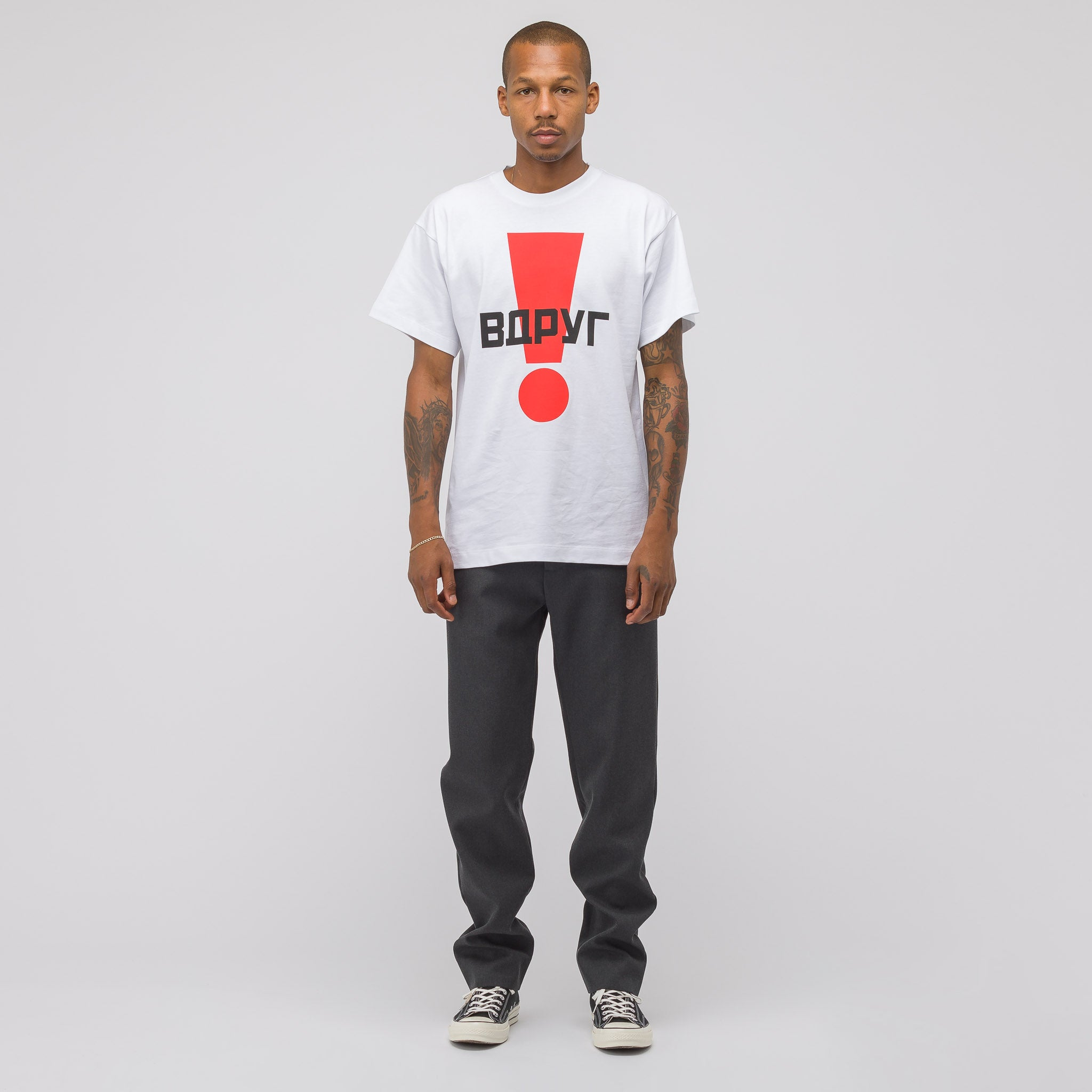 Graphic T Shirt in White