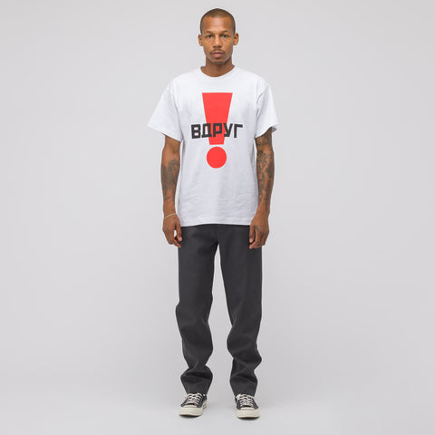 Gosha Rubchinskiy Graphic T-Shirt in White - Notre