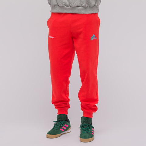 Gosha Rubchinskiy x Adidas Sweatpants in Red - Notre