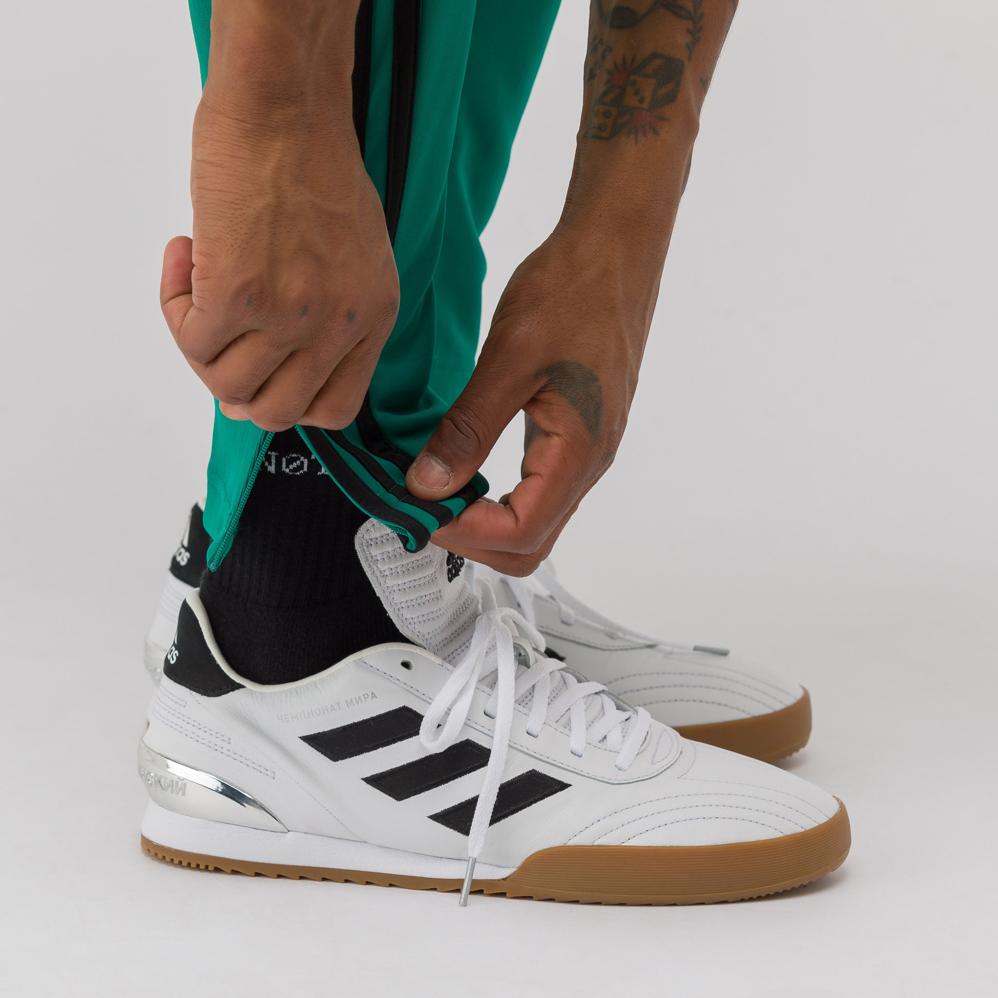 x adidas Track Pant in Green